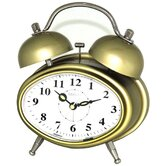 Double Bell Melody Alarm Clock