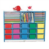 Cubbie Unit With Letter Slots