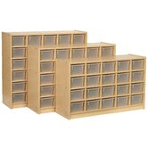 25-Tray Cubbie Unit with Trays