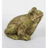 Ceramic Frog Figurine