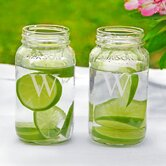 Personalized 26oz. Mason Jars (Set of 2)