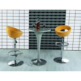 Adjustable Planet Bar Stool in Yellow