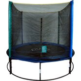 8ft Round Trampoline Set