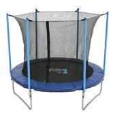 10 Foot Trampoline and Enclosure Set