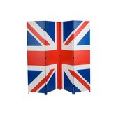 Cool Britannia Union Jack Canvas Screen