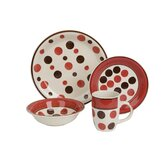 Dotty Time 16 Piece Dinner Set (Gift Boxed)
