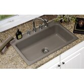Advantage Coventry Single Bowl Extra Large Self Rimming Kitchen Sink