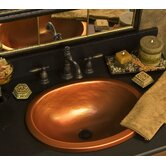 Advantage Self Rimming or Undermount Oval Bathroom Sink