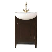 "Magnolia 23"" Bathroom Vanity Set in Blackish Brown"