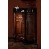 "Manor 20"" Corner Bathroom Vanity Cabinet in Distressed Maple"