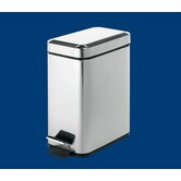 Argenta Rectangular Waste Bin in Stainless Steel