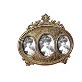 Oval Trio Photo Frame
