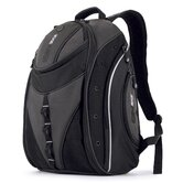 Express Backpack in Black / Silver