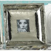 Hammered Nickel Picture Frame