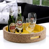 Ambrosia Double Walled Round Serving Tray