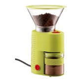 Bistro Electric Burr Grinder in Green