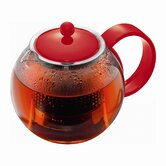 Assam Tea Pot in Red