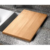 "12"" x 17.25"" Hard Rock Maple Wood Cutting Board"