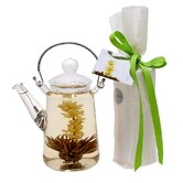 Blooming Teapot Duo Jasmine Infused Tea Gift Set