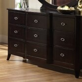 Crossroads 9 Drawer Dresser