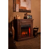Rustic Indoor Electric Fireplace