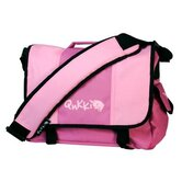 Laptop Messenger Bag in Pink
