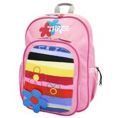 Pixie Stripe Backpack in Pink