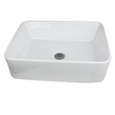 "19"" Vessel Bathroom Sink"