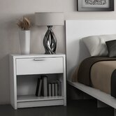 Eva 1 Drawer Nightstand