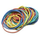 Rubber Bands, 5 oz., 210 per Pack, Assorted Sizes/Colors