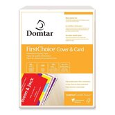 "FirstChoice Cover and Card Stock, 65lb., Cover And Card, 8-1/2""x11"", 250/PK, WE"