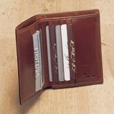 High Polished Cowhide Aniline Leather Two Fold Wallet II