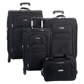 Illusion Spinner 4 Piece Luggage Set