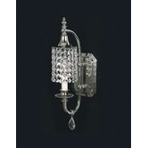 Nocturne Wall Sconce in Polished Silver