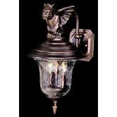 Carcassonne Two Light Outdoor Wall Lantern