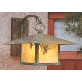 Monterey Outdoor Wall Lantern with Filigree