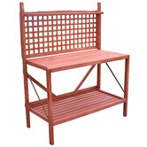 Wood Potting Bench