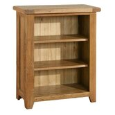 Bordeaux Mini Bookcase in Medium Oak Stain and Satin Lacquer