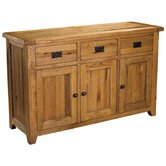Bordeaux Medium Sideboard in Medium Oak Stain and Satin Lacquer