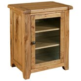 Bordeaux Hi-Fi Cabinet in Medium Oak Stain and Satin Lacquer