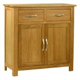 Essentials Mini Sideboard in Light Oak Stain and Satin Lacquer