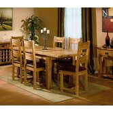 Parnell Extending Solid OIak 4 Chair Dining Room Set