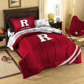 College Rutgers Bed in Bag Set