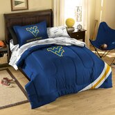 College West Virginia Bed in Bag Set