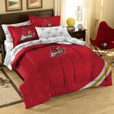 Collegiate Louisville Twin / Full Comforter Set