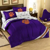 Collegiate Clemson Twin / Full Comforter Set