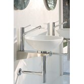 Linea Grepia Bathroom Sink in White