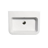 "GSI 21.7"" x 16.9"" Tracia M 55.43 Bathroom Sink in White"