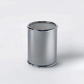 "Complements 9.5"" x 7.9"" x 7.9"" Dina Waste Basket in Polished Chrome"