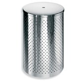 "Complements 12.2"" x 12.2"" Waste Basket with Lid"